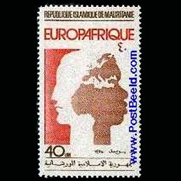 Briefmarken      des Themas Afrika-Europa  '