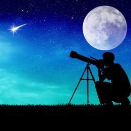Briefmarken      des Themas Astronomie  '