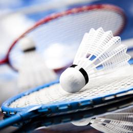 Briefmarken      des Themas Badminton  '