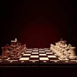 Briefmarken      des Themas Schach  '