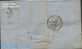 Folding letter from Ghent to Utrecht