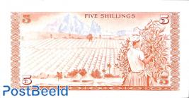 5 Shillings 1.7.1977