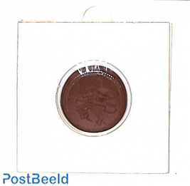 Local porcelain 50pf coin