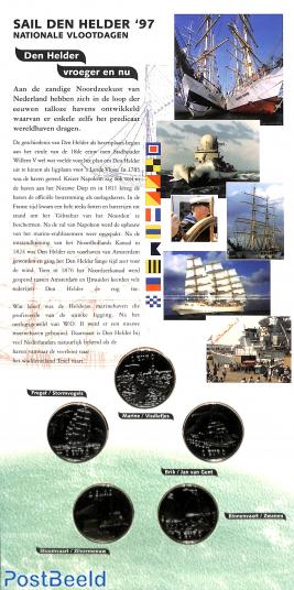 Sail Den Helder 1997, token set