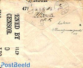Letter to Holland (censored)