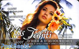Miss Tahiti 6v s-a in booklet