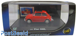 Cararama Fiat 500L 1:43 + Stamp