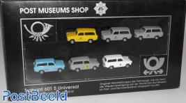 Herpa Trabant 601S Post Museum Shop Set