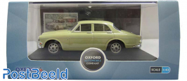 Oxford Volvo Amazone Light Green + Stamp from Sweden
