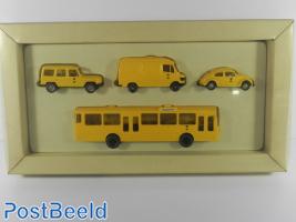 Wiking 1:87 Post Museum Shop Set 1991