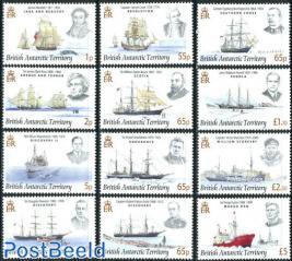 Definitives, ships 12v