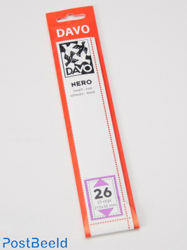 Nero N26 Klemtaschen (215 x 30) 25 Stück
