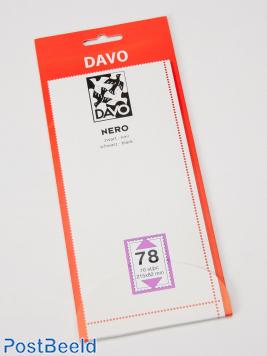 Nero N78 Klemtaschen (215 x 82), 10 Stück