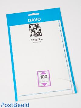 Cristal Klemtaschen C100 (215 x 104) 10 PC