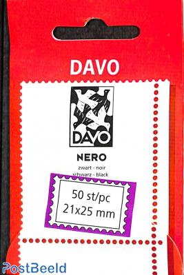 DAVO Nero Netherlands protector mounts size 21 x 25