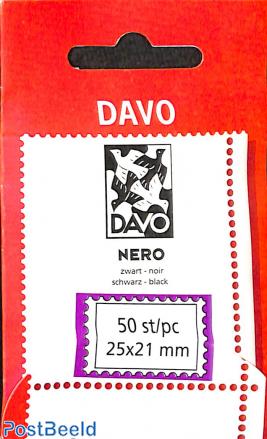 DAVO Nero Netherlands protector mounts size 25 x 21