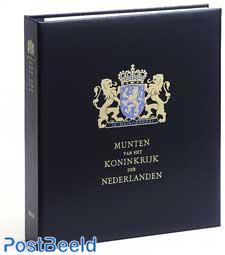 Luxus Münzenalbum Kon. Willem Alexander (b / w)