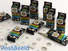 Münzrähmchen sortiert (25 PC / 10 verschiedene Größen)