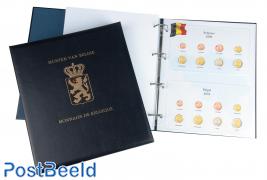 Luxus Euro-Münzenalbum (Albert II)