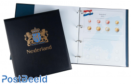 Luxus Euro-Münzenalbum Königin Beatrix