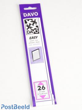 Leicht schwarz Klemtaschen Ned. Größen Z26, Z36, Z56 und Z135