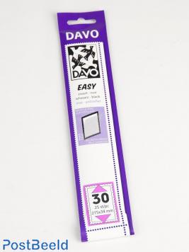 Easy protector mounts black Z30 (215 x 34) 25 pcs