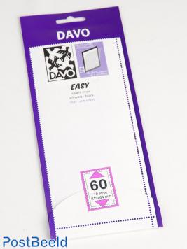 Leicht Klemtaschen schwarz Z60 (215 x 64), 10 Stück