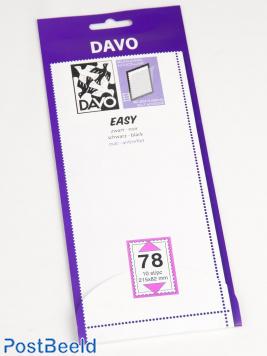 Easy protector mounts black Z78 (215 x 82) 10 pcs