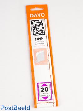 Easy protector mounts of transparent T20 (215 x 24) 25 pcs