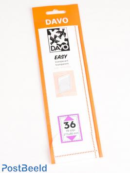 Easy protector mounts of transparent T36 (215 x 40) 18 pcs