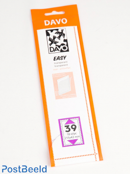 Easy protector mounts of transparent T39 (215 x 43) 18 pcs