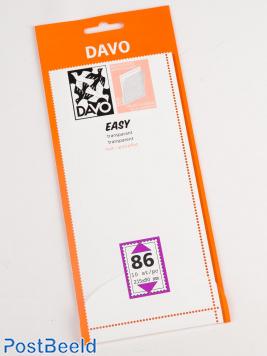 Easy protector mounts of transparent T86 (215 x 90) 10 pcs