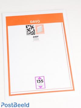 Easy protector mounts of transparent T135 (215 x 139) 10 pcs