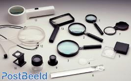Stahl Lupe 50 DF (1), wobei jedes Stück