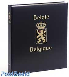 Luxus Binder Briefmarken Album Belgien Blätter I