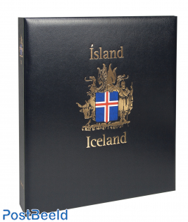 Luxus Briefmarken Album Binder Island III