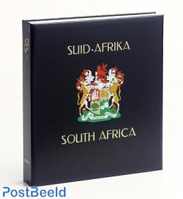 Luxus Binder Briefmarken Album Südafrika Union