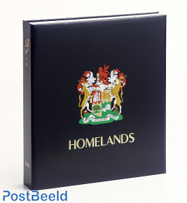Luxus Binder Briefmarken Album S. Afrika Heimat. ich