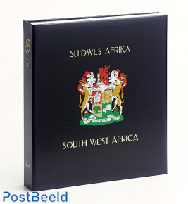 Luxus Briefmarken Album Binder Z.W Afrika (ohne Nummer)