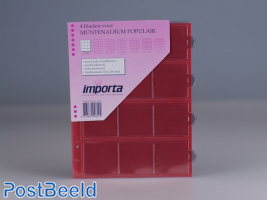 Importa Coin Pages Popular - 12 Pockets
