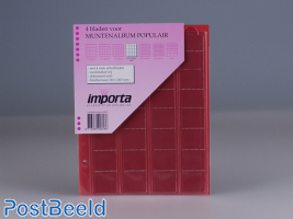 Importa Coin Pages Popular - 32 Pockets