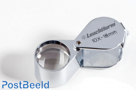 Leuchtturm Precision Magnifier Chrome-Plated 10x