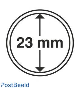 Leuchtturm Coin Capsules 23mm - 10x (314782)