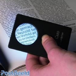 Leuchtturm Credit Card-sized LED Magnifier(316350)