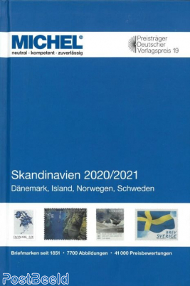 Michel Europe volume 10 Scandinavia 2020/2021