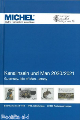 Michel Europe Volume 14 Channel Islands and Man 2020-2021