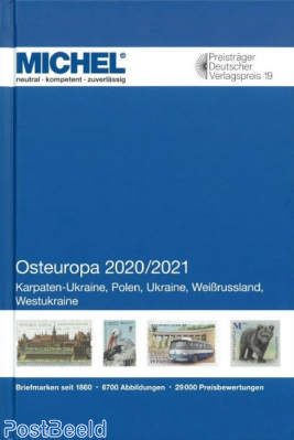 Michel Europe Volume 15 East Europe 2020/2021
