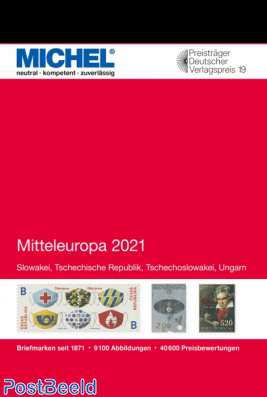 Michel Catalog Europe volume 2 Central Europe 2021