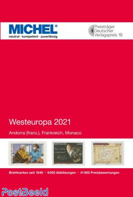Michel Western Europe volume 3 2021