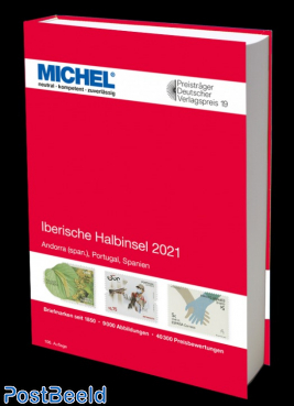 Michel Catalog Volume 4 Iberian Peninsula 2021